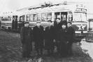 Работники депо у поезда КТМ/КТП-1