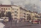 Вагон РВЗ-6 на перекрестке ул.Клюквина и пр-та Ленина