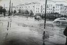 Потоп на перекрестке ул.Клюквина и пр-та Ленина